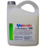CLEAN POLEROLLE, 5л, Универсальное низкопенное нейтральное моющие средство с полирующим эфектом