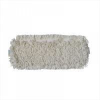 МОП плоский 50х16 см, хлопок, карман, белый