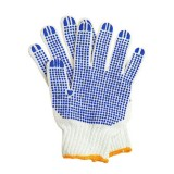 Перчатки вязанные с ПВХ