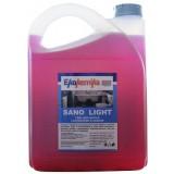 SANO LIGHT Гель, 5л, Готовый к применению гелевый раствор для для чистки раковин, унитазов, писсуаров, ванн