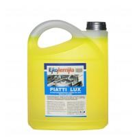PIATTI LUX, 5л, Концентрированное средство для мойки кухонной посуды и столовых приборов, устройств и аппаратов