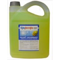 SALNET UNIVERSARI, 1л, Универсальное низко-щелочное среднепенное средство для удаления органических и жировых загрязнений на кухне