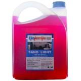SANO LIGHT, 0,6л, Готовый к применению раствор для для чистки раковин, унитазов, писсуаров, ванн