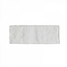МОП плоский 40х11 см, микрофибра, рамочный, белый