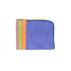 Салфетки микрофибра 30см*30см (синий)
